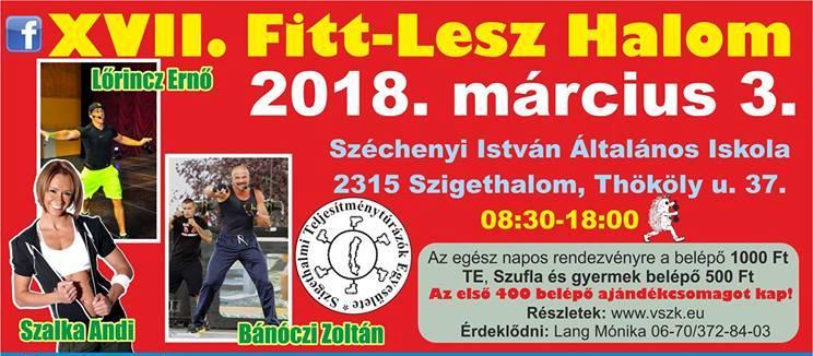 FITT-LESZ HALOM 2018 Szufla futás