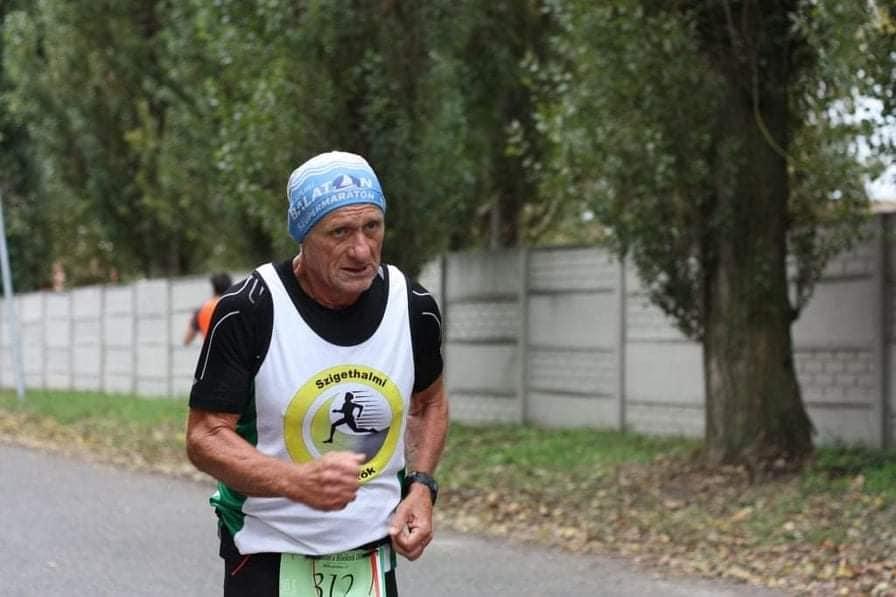 Egyéni és váltó futás Ráckeve – Tigyi László