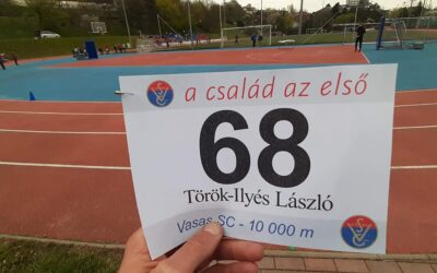 Vasas SC esti pályaverseny – Török-Ilyés László